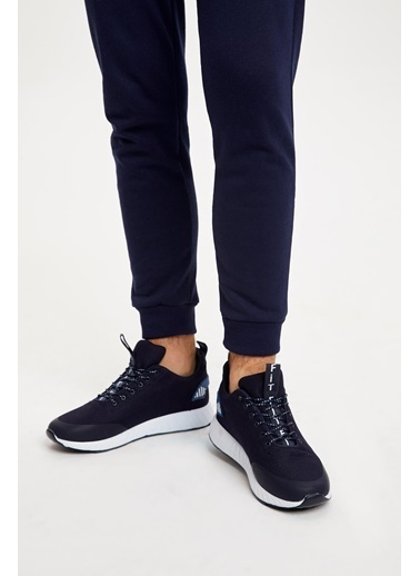 Defacto –Fit Bağcıklı Spor Ayakkabı Lacivert